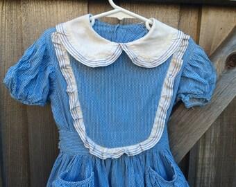 1950s Girls Dress 3/4T