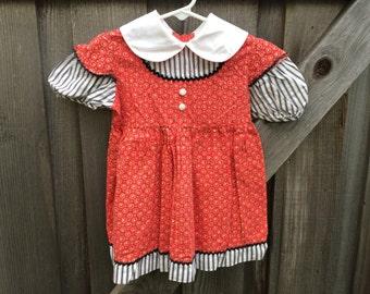 70s Toddler Dress 3T