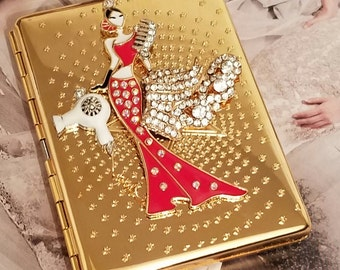 Glamorous  Hairstylist/ID Wallet/Cigarette Case