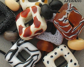 DSG-Debbie Sanders Glass Handmade Lampwork Beads (Made To Order) Plains of Africa