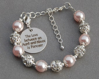 Aunt Niece Gift, The Love between an Aunt and Niece is Forever, Kids Gift, Gift from Aunt, Gift for Niece, Aunt Gift