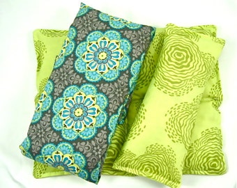 Aromatherapy: Neck Wrap, Back Relief Heat Pack,  Eye Pillow Hot Cold Therapy Organic,Natural Healing