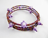 Purple Turtle Bracelet