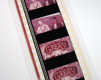 Grease Movie Recycled Bookmark