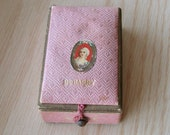 Vintage Richard Hudnut Du Barry Miniature Box for Compact