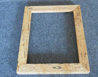 9x12 Spalted Figured Maple Picture Frame