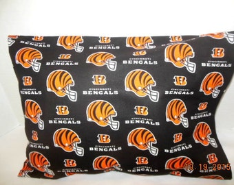 Travel/Toddler Size Cincinnati Bengals Pillowcase