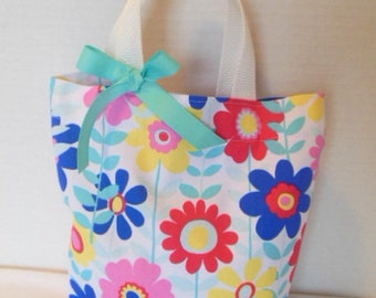 Spring Flowers Purse/Gift Bag/Tote