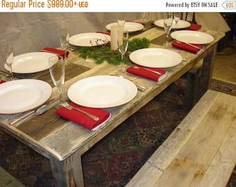 """Duffs Driftwood Table (65""""L x 30""""W x 29""""H)"""