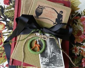 Vintage book bundle, vintage books, rare books, book decor, decorative books, vintage wedding, photo prop