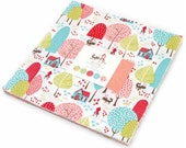 SALE In STOCK 10 inch squares Layer Cake - LIL' Red Moda Fabric by Stacy Iest Hsu