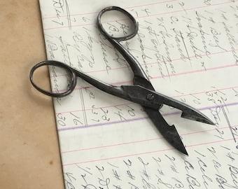 Antique Scissors Sewing Scrapbooking Needlework Metal