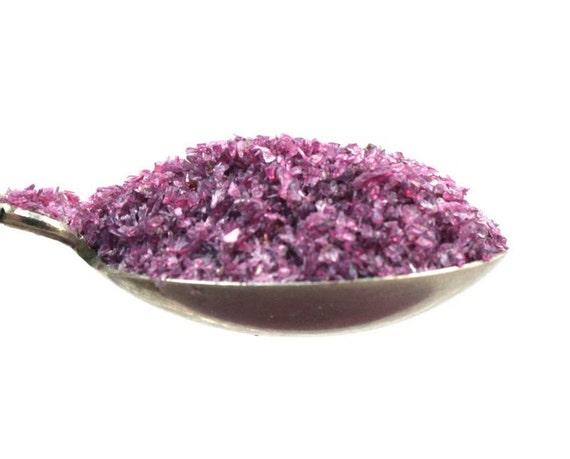 Purple chunky glitter translucent art glitter craft for Chunky glitter for crafts