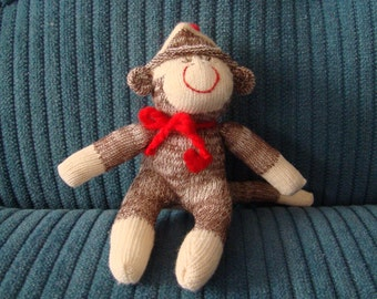 Miniature Baby  Mini Sock Monkey