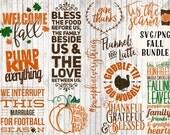 fall svg bundle, fall clipart, pumpkin spice svg, latte svg, coffee mug svg, sign svg, thanksgiving svg, fall svg files, fall printable
