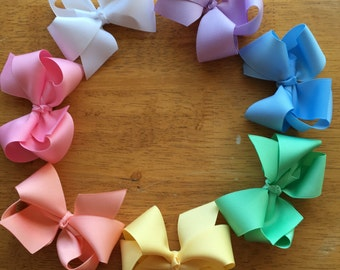 Pastel Boutique Bow Set