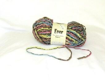Yarn, novelty yarn, Ever 29, Universal Yarns, multicolor, C, destash