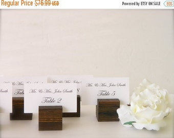 Rustic wedding place card holders - place card holders, wood, place card holders Rustic Place Card Holders- Set of 100