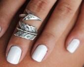 Sterling Silver Midi Ring, Boho Midi Rings, Midi Boho Ring, Arrow Ring, Arrow Jewelry, Arrow Midi Ring, Arrow Knuckle Ring Knuckle Midi Ring