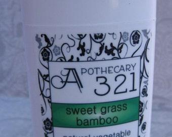 Sweetgrass Bamboo Scented Vegan Natural Deodorant