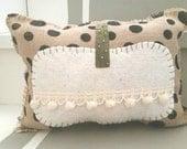 Natural Pumpkin Pillow