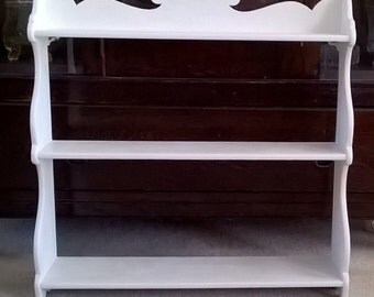 Vintage Hanging Wall Shelf - LOCAL PICKUP ONLY