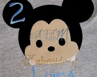 Tsum Tsum Mouse Personalized Unisex styled Shirt