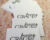 Amazing Grace Sentiment Cards - ORDER FOR DIANEBMC