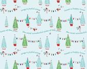 Pixie Noel by Tasha Noel Pixie Trees Aqua (C5251)