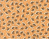 Preorder - Chestnut Street (20275 12) Pumpkin Cotton Puffs by Fig Tree & Co.