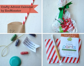 Family Crafty DIY Activities Advent Calendar for Multiple Kids - 24 days till Christmas (PRE-ORDER)