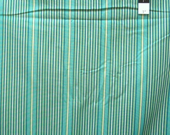 Joel Dewberry PWTC032 True Colors Stripe Mix Lake Cotton Fabric By Yd