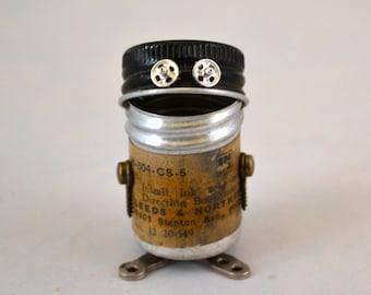 DINKY BOT Assemblage Art Tiny Robot Sculpture