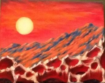 SURREALITY #2 Original Oil Painting