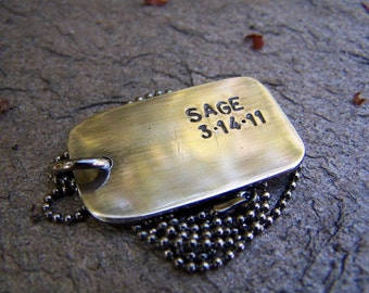Dog Tag Perfect For Your Man