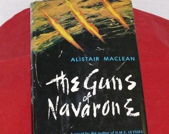 The Guns of Navarone - VINTAGE novel - 1957 - Alistair Maclean - Classic