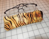 tiger eyeglass reader case easy to find sunglass eyewear cover