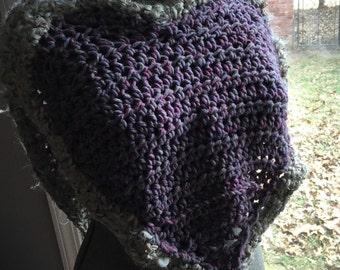 Purple Poncho