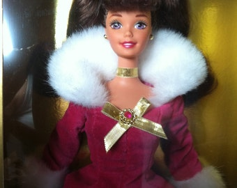 BARBIE Collectable Winter Rhapsody Barbie Doll an Avon Exclusive in the Original Box