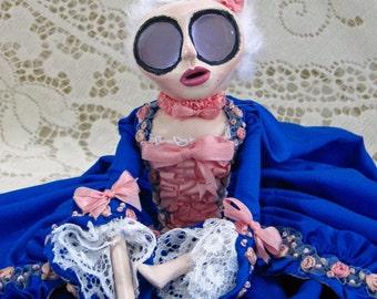 Madame de Pompadour - French Historic Art Doll by Natasha Morgan