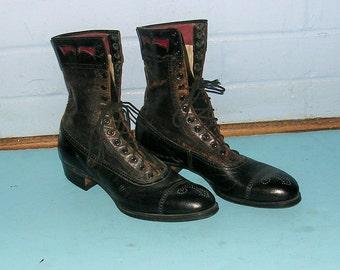 Antique Vintage Shoes Antique Vintage Boots Antique Vintage Ladies Childs Shoes