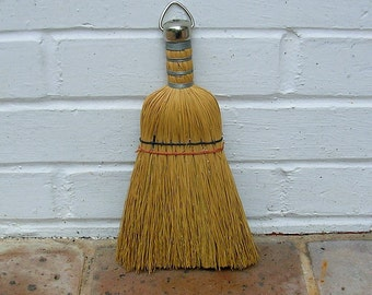 Vintage Whisk Broom Vintage Wisk Broom Old Straw Broom