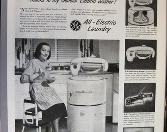 140 General Electric  Washer Ad - 1948
