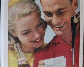 245 Pepsi Cola Ad  -  1962