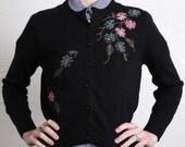 ON SALE Vintage Cardigan Sweater