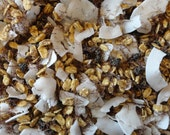 Hermit Crab Food Sticky Trail Mix by Crabotanicals all natural pet food treat with Corn Silk and Currants