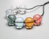 Murano Glass Jewelry // Minimalist Necklace // Murano Glass // Contemporary Jewelry