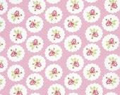 Custom Order - LuLu Roses by Tanya Whelan - Lotti Print Fabric in Pink