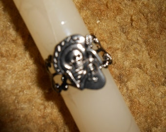 Day of the Dead Finger ring