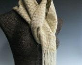 Handwoven Silk Scarf: Arizona